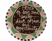 Toasting Plate/Opportunity