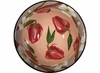 Vegetable Blossom Large Mixing Bowl/Red Pepper