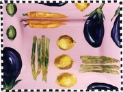 Vegetable Fruit Rectangular Platter