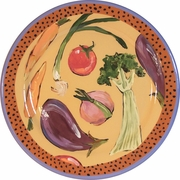 Vegetable Soup Dinner Plate