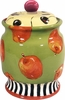 Winter Apple Cookie Jar