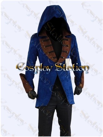 Assassin's Creed Jacket Custom Made Cosplay Costume: High Quality!