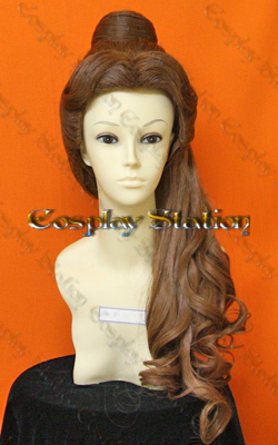 Beauty and the Beast Belle Custom Styled Cosplay Wig