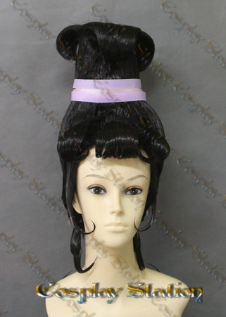 Beetlejuice Cartoon Lydia Deetz Custom Made Cosplay Wig
