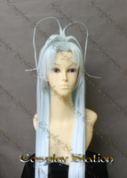 DearS Ren Commission Long Blue Cosplay Wig