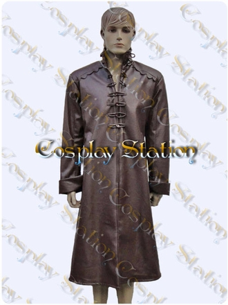 Aramis Leather Coat Cosplay Costume