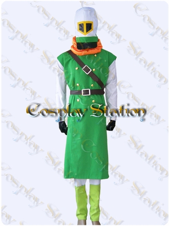 "Dragon Quest IV Kiryl Cosplay Costume_<font color=""red"">New Arrival!</font>"