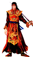 Dynasty Warriors 3 Zhou Yu Custom Made Cosplay Costume: High Quality!