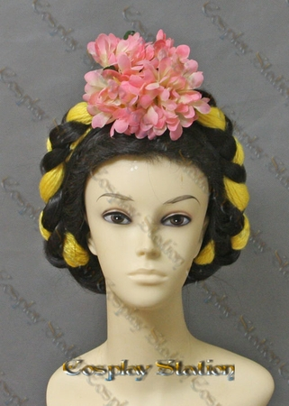 Frida Kahlo Custom Made Cosplay Wig