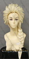 Frozen Elsa Custom Styled Cosplay Wig