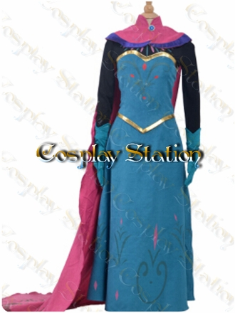 Frozen Princess Elsa Cosplay Costume