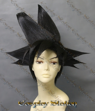 Goku Custom Made Cosplay Wig: New Version!