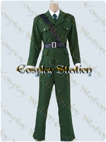Hetalia Axis Powers England Cosplay Uniform
