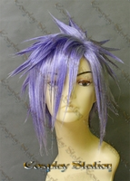Kingdom Hearts II  Organization XIII Zexion Cosplay Wig