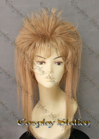 Labyrinth Jareth the Goblin King Custom Made Cosplay Wig