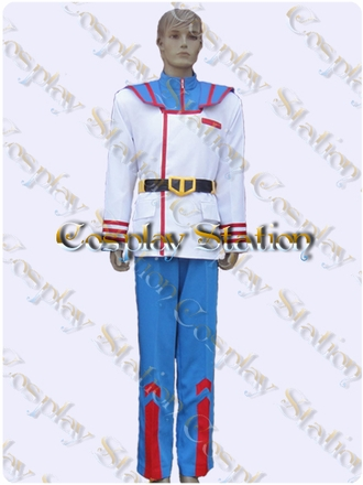 Macross Robotech Rick Hunter Flight Suit Cosplay Costume