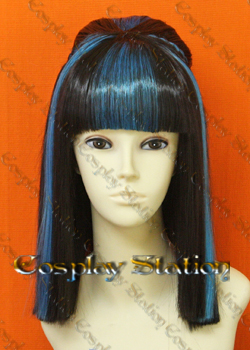 Monster High Ghouls Rule Cleo De Nile Custom Styled Cosplay Wig