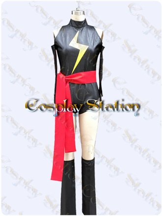 Ms Marvel Custom Made Cosplay Costume: High Quality!