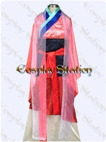 Mulan Custom Made Cosplay Costume: High Quality!