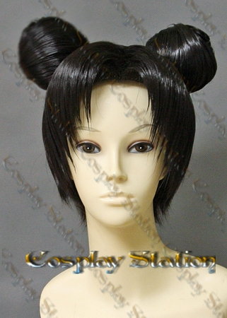 Naruto TenTen Custom Styled Cosplay Wig