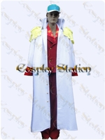 One Piece Akainu Custom Made Cosplay Costume: High Quality!