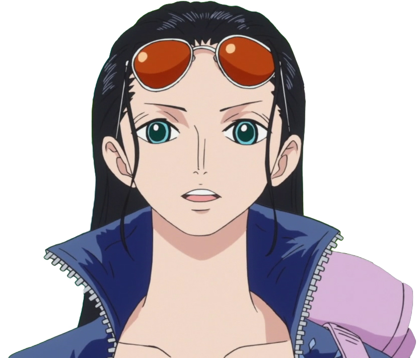 One Piece Cosplay Nico Robin Custom Made Cosplay Wig