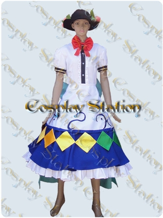 Scarlet Weather Rhapsody Tenshi Hinanai Cosplay Costume