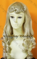 Sleeping Beauty Princess Aurora Custom Styled Cosplay Wig