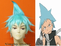 Soul Eater Black Star Cosplay Wig_New Design!