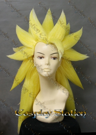 SSJ3 Goku Custom Made Cosplay Wig