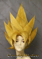 Super Saiyan 2 Goku Extended Custom Made Cosplay Wig