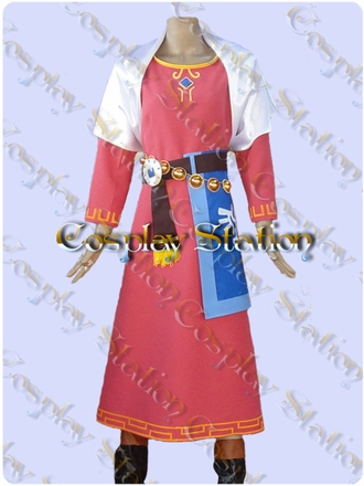 The Legend of Zelda Skyward Sword Zelda Cosplay Costume