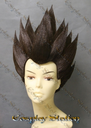 Vegeta Custom Styled Cosplay Wig