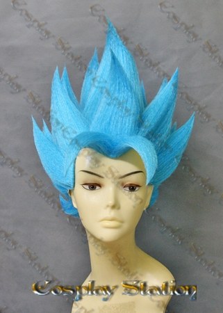 Vegito Blue Custom Made Cosplay Wig