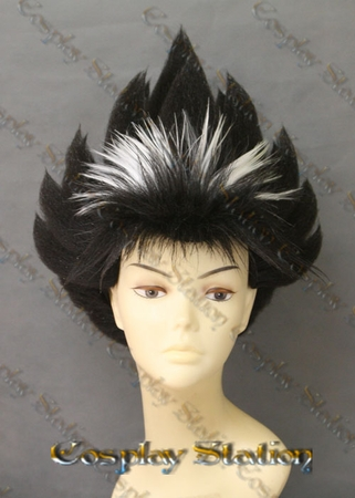 Yu Yu Hakusho Hiei Custom Made Cosplay Wig