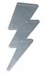 Lightning Bolt Stickers