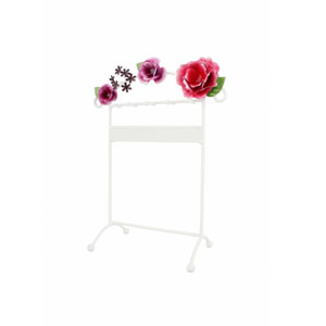 Bella Rosa Earring and Necklace Holder Hot Pink