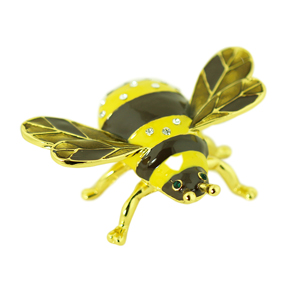 Bumblebee Trinket Box