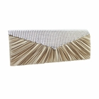 Crystal Beads Evening Purse Collection Gold