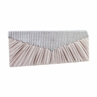 Crystal Beads Evening Purse Collection Light Pink