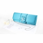 Edgy and Elegant Evening Purse Blue