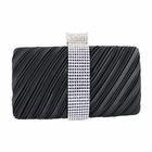 Elegant Clutch Evening Purse Collection Black