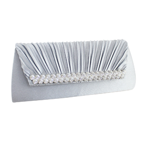 Elegant Vintage Crystals Purse Collection Silver