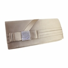 Glittering Bow Evening Purse Collection Beige