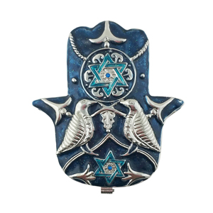 Hamsa Blessings Trinket box Bejeweled