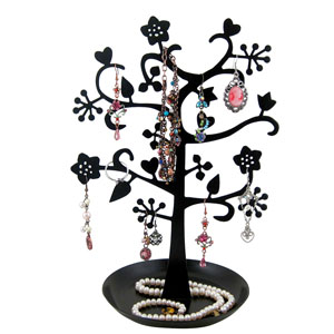 Jewelry Tree Stand Stars and Hearts