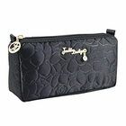 Retro Chic Compact Cosmetic Bag Black