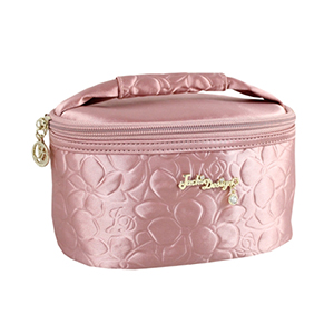 Retro Chic Train Case Blush