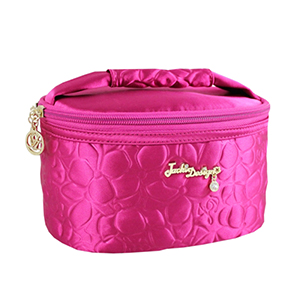 Retro Chic Train Case Hot Pink