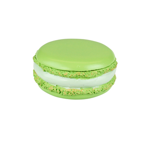 Tasty Looking Macaroon Trinket Box Green